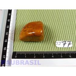 Jaspe jaune pierre roulée 25g Afrique du Sud