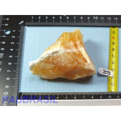 CALCITE ORANGE en Pierre Brute 189gr