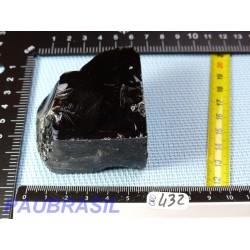 Obsidienne noire en Pierre Brute de 164gr