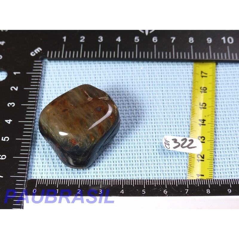 Oeil de Faucon en pierre roulée de 41gr