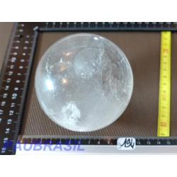 Sphere en Cristal de Roche 889gr 85mm diam Q Extra