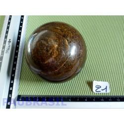 Sphère en Bronzite 627gr Bresil 74mm diamètre
