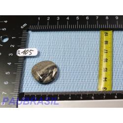 Jaspe Feuille d'Argent en Mini Pierre Plate 6g qualité moyenne