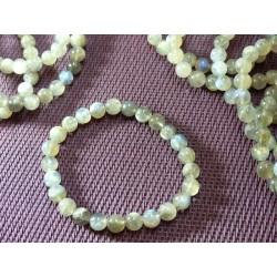 Bracelet Labradorite en perles de 8mm Q Extra