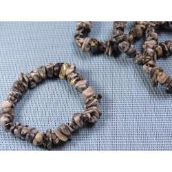 Bracelet baroque XL en Pinolite Q Extra