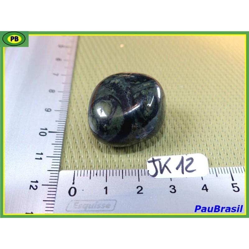 Jaspe Kimbaba ou Crocodile pierre roulée 19g