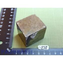 Pyrite cubique de 252gr