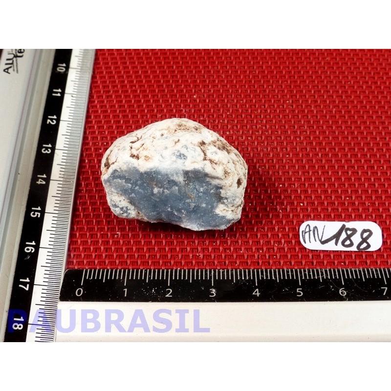 Angelite Anhydrite bleue en pierre brute de 25g