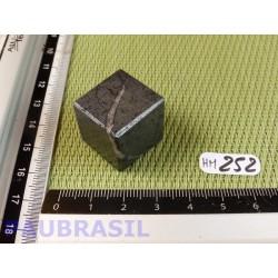Cube poli en Hématite Q Extra 38g 20mm