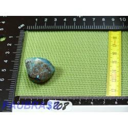 Shattuckite Congo en pierre roulée Q Extra 14gr