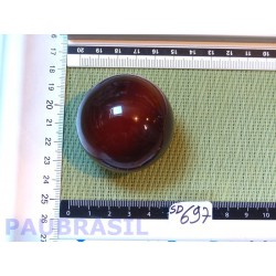 Sphère Cornaline 149g 47mm diamètre