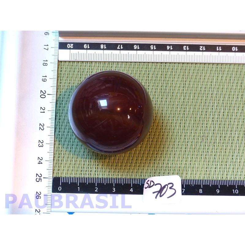 Sphère CORNALINE 139g 47mm diamètre