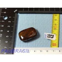 Oeil de Fer pierre plate rectangulaire 16gr