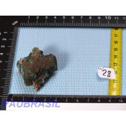 Dioptase en pierre brute Congo 46g qualité moyenne
