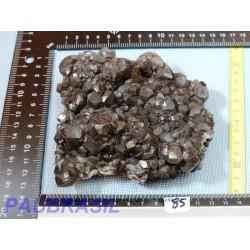 Calcite noire brute de 645gr du Mexique