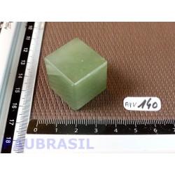 Cube poli en Aventurine Verte 33gr 23mm