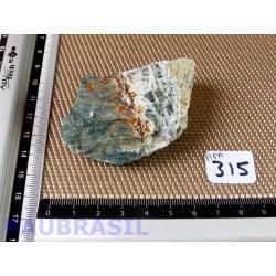 Apatite Bleue en pierre brute de Madagascar 122g
