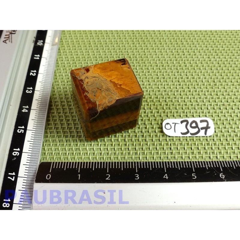 Cube poli en Oeil de Tigre 23gr 21mm