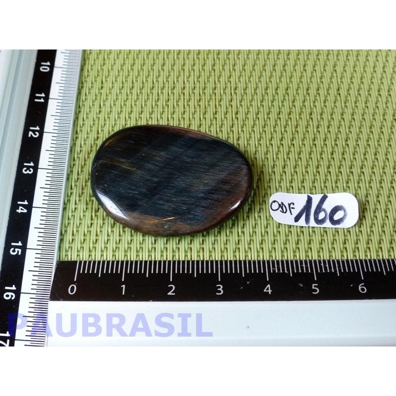 Oeil de Faucon en pierre plate fine de 10gr
