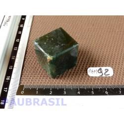 Cube poli en Agate Mousse 37gr 25mm