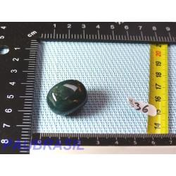 Calcédoine Verte Silicates de Fer en pierre roulée 10g