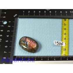 Labradorite mini pierre polie de 14gr Q EXTRA