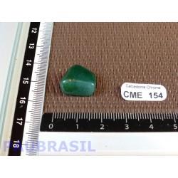Calcédoine Verte Chrome - Mtrolite Q Extra pierre roulée 2gr30