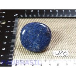 Dumortiérite bleue en galet plat de 27g