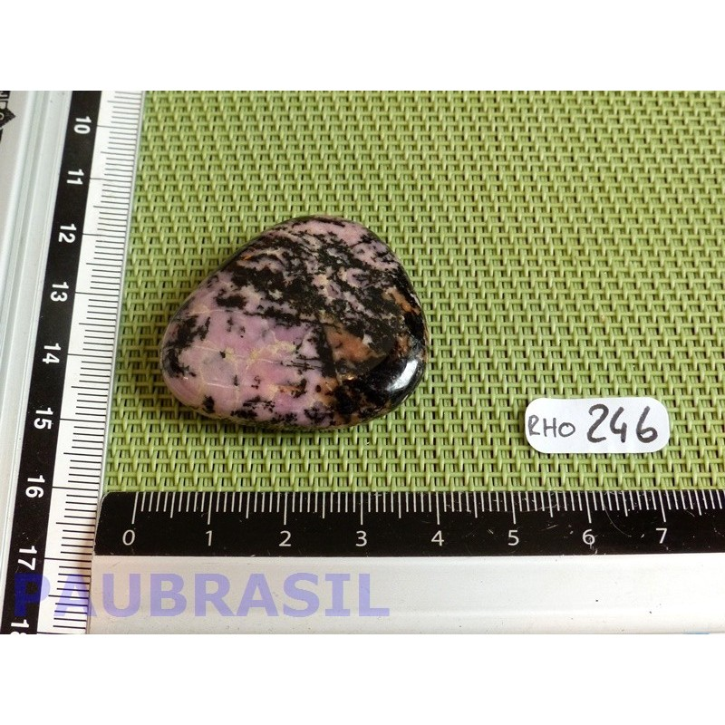 RHODONITE Q EXTRA Pierre plate 25g