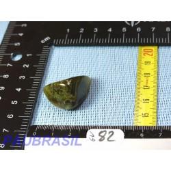 Grenat vert Grossulaire en pierre roulée de 16g du Mali