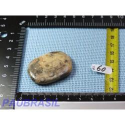 Agate Crazy Lace en pierre plate de 17gr