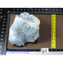 Morceau de Géode de Calcédoine Bleue 250g Q Extra Namibie