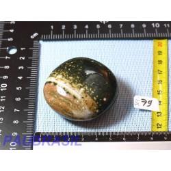 Jaspe Orbiculaire Poli Q Extra de Madagascar 114g