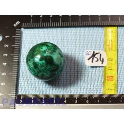 Sphère en MALACHITE CHRYSOCOLLE Q Extra 35mm 65gr