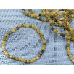 Bracelet Serpentine Chyta en perles de 4mm