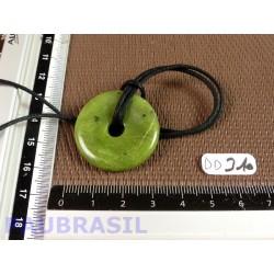 PI Donut Jade Néphrite de 3 cm