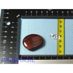 Oeil de Boeuf - Oeil de Taureau pierre plate de 16g