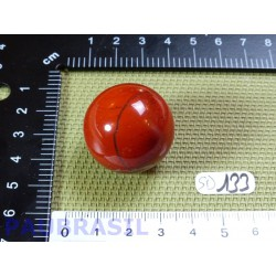 Sphère Jaspe Rouge 35g diamètre 29mm