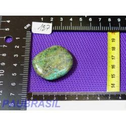 Chrysocolle en pierre plate 21g
