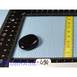 Tourmaline Noire Schorl mini pierre plate de 14gr