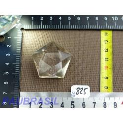 Pentagramme - Pentacle en Quartz Fume 28g Q Extra