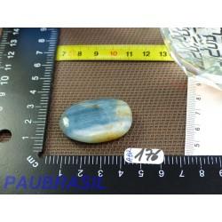 Aragonite bleue Argentine Q Extra en Pierre Plate 17gr