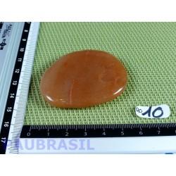 Aventurine orange - peach aventurine galet plat 35gr