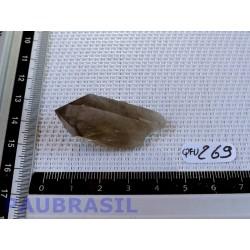 Pointe de Quartz Fumé brut du Brésil 13g