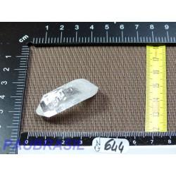Pointe en Cristal de Roche Q Extra pour lithothérapie 13gr