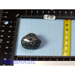 Obsidienne Flocon de Neige Pierre Roulée 20g