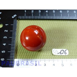 Sphère Jaspe Rouge 38g diamètre 30mm