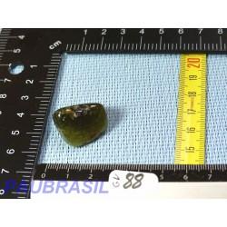 Grenat vert Grossulaire en pierre roulée de 13g du Mali
