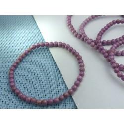 Bracelet Phosphosidérite Q Extra en perles de 4mm