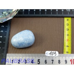 Calcite Bleue en Pierre Roulée Q Extra 30g